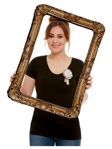 Inflatable Gold Picture Frame
